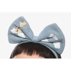 Loungefly Disney Pixar Up Clouds Bow Headband