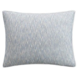 UGG Olivia Seal Blue Textured Cotton Standard Sham