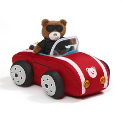 Baby GUND Sports Car with Teddy Bear Plush with Lights and Sounds
