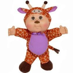 "Cabbage Patch Kids 9"" Serena Giraffe Zoo Friends Cutie Doll Plush"