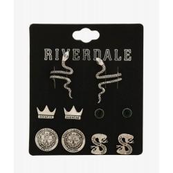 Riverdale Southside Serpents Earring Set