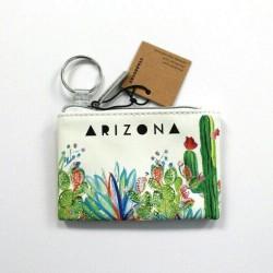 Starbucks Arizona 2019 Cactus Coin Purse Keychain