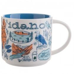 Starbucks Idaho Ceramic Mug 14 Fl Oz Been There Series