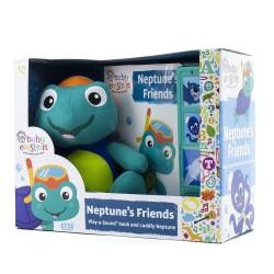 Baby Einstein Neptune's Friends Play-a-Sound Book and Cuddly Neptune