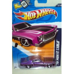 Hot Wheels Muscle Mania GM '12 - '70 Monte Carlo - 107