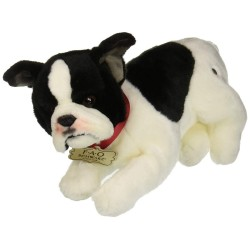 FAO Schwarz French Bulldog Puppy Dog Plush 10 Inches