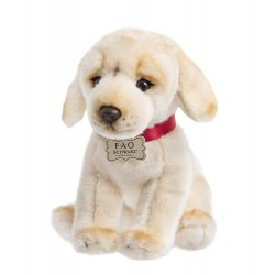FAO Schwarz Labrador Puppy Dog Soft Plush 10 Inches