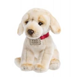 FAO Schwarz Labrador Puppy Dog Soft Plush 10 Inches