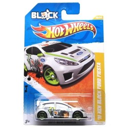 Hot Wheels 2011 71 New Block Ford Fiesta