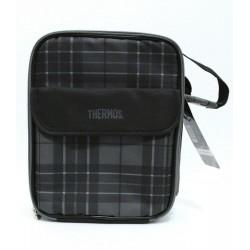 Thermos Black Lunch Box Kit