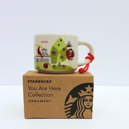Starbucks Ohio Demitasse Mug Ornament You Are Here Collection