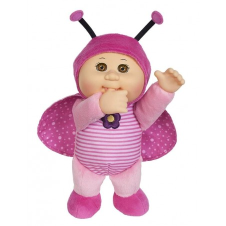 """Cabbage Patch Kids Cuties Garden Party Sunny Ladybug 9"""" Doll Plush"""