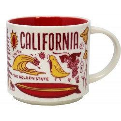 Starbucks California Golden State Mug Been There Series 14 Fl Oz