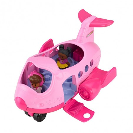 Fisher-Price Little People Lil Movers Airplane - Pink