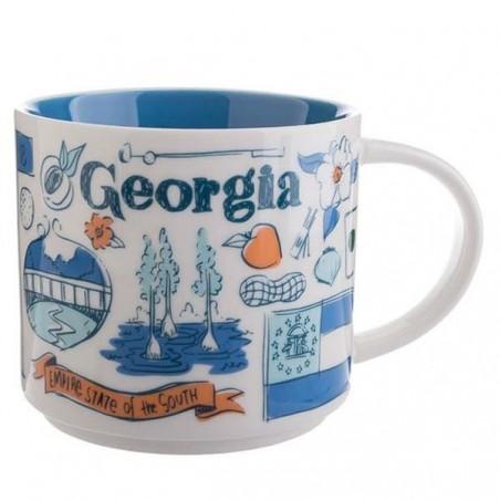 Starbucks Georgia Ceramic Mug Been There Series 14 Fl Oz