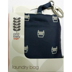 Orla Kiely Laundry Bag - Navy Blue