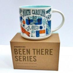 Starbucks North Carolina Ceramic Mug Been There Series 14 Fl Oz