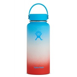 Hydro Flask Limited Edition Coconut Rainbow Wide Mouth Bottle 32 Fl Oz