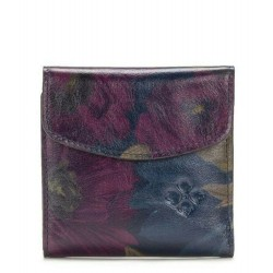 Patricia Nash Peruvian Painting Reiti Bi Leather Wallet