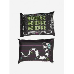 Beetlejuice Name and Sandworm 2-Pack Standard Pillowcase Set