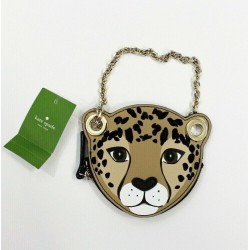 Kate Spade Run Wild Leopard Coin Purse