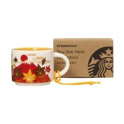 Starbucks Japan Autumn Demi Mug Ornament You Are Here Collection 2 Fl Oz