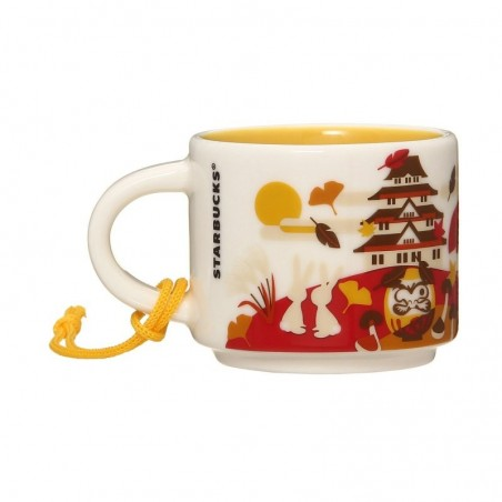 Starbucks Japan Autumn Demi Mug Ornament You Are Here Collection 2 Fl Oz