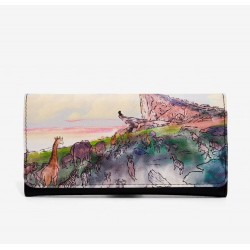 Loungefly Disney the Lion King Pride Rock Watercolor Flap Wallet