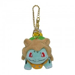 Bulbasaur Pokémon Hallowen Pumpkin Parade Poké Plush Keychain