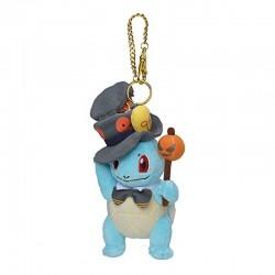 Squirtle Pokémon Pumpkin Japan Halloween Parade Poké Plush Keychain