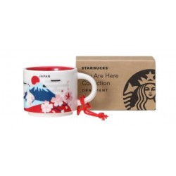 Starbucks Japan Demi Mug Ornament You Are Here Collection 2 Fl Oz