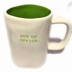 Rae Dunn Magenta Out of Office Mug