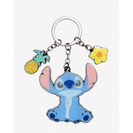 Loungefly Disney Lilo & Stitch Pineapple Keychain