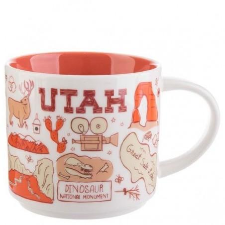 Starbucks Utah Ceramic Mug Been There Series 14 Fl Oz