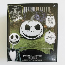 Disney Jack Skellington Halloween Pumpkin Airblown Inflatable