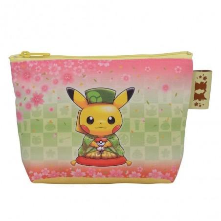 Pokemon Pikachu Japan Tea Party Pouch from Pokemon Center Kyoto
