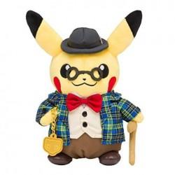 Pokemon Pikachu Gentleman 8-Inch Plush Doll of Pokemon Center in Japan