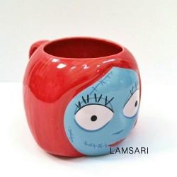 Disney The Nightmare Before Christmas Sally Red Ceramic Coffee Mug 16 Fl Oz