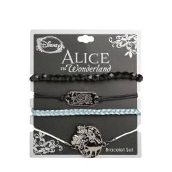 Disney Alice in Wonderland Curiouser Bracelet Set