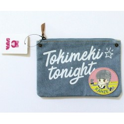 Tokimeki Tonight Ranze Manga Japanese Animation Denim Zip Pouch Case