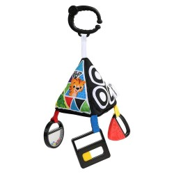 Baby Einstein Take-Along Playful Pyramid High-Contrast Toy