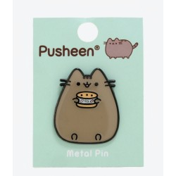 Pusheen Ice Cream Sandwich Metal Enamel Pin