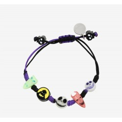 The Nightmare Before Before Christmas Characters Glow-in-the-Dark Cord Bracelet