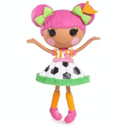 Lalaloopsy Whistle Kick 'N' Score Large Soccer Player Doll