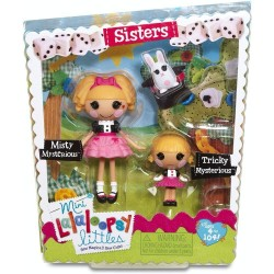 Lalaloopsy Mini Sisters Misty Mysterious and Tricky Mysterious Dolls