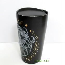 Starbucks Holiday 2019 Siren Mermaid Double Wall Ceramic Tumbler 12 Fl Oz
