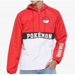 Pokemon Trainder Anorak Windbreaker Jacket