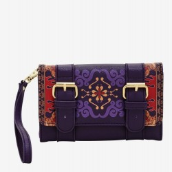 Loungefly Disney Aladdin Magic Carpet Flap Wallet