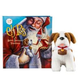 The Elf on the Shelf Elf Pets A Saint Bernard Tradition Story Book and Plush