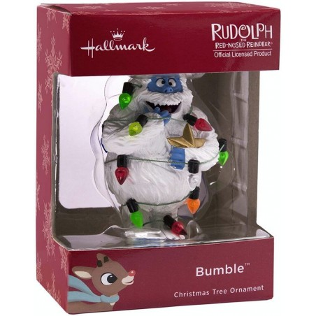 Hallmark Rudolph Red-Nosed Reindeer Bumble Christmas Tree Ornament